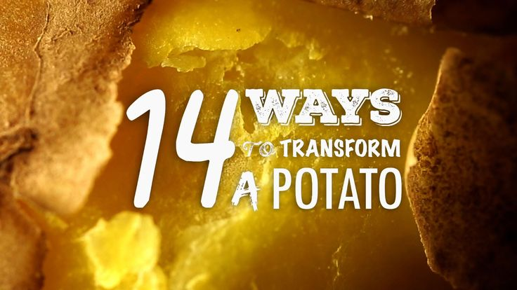 14 Ways to transform a Potato  >>> http://snip.ly/quWD