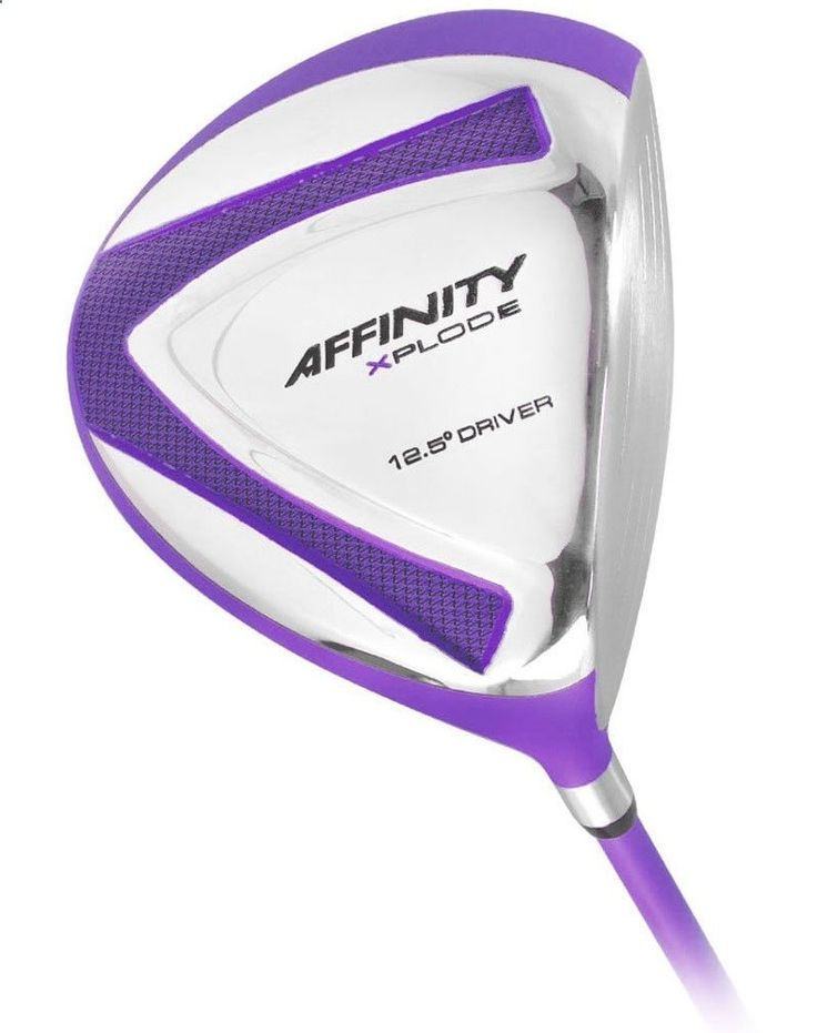 Affinity Womens Purple Xplode Golf Drivers