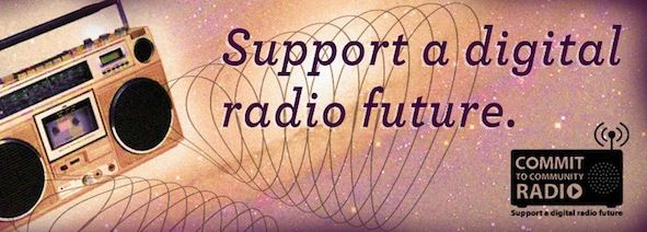 'Commit to Community Radio'  Check out my first post for FBi 94.5 and get behind Australian music!
