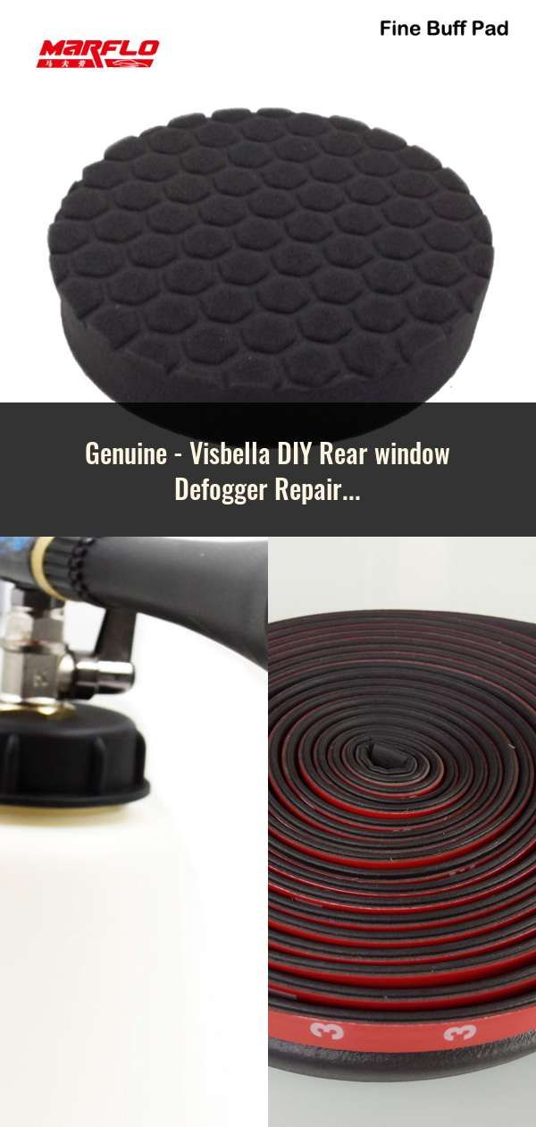 Visbella DIY Rear Window Defogger Repair Kit Repair The Mist Line of Auto Rear Window Glass Fix Broken Defogger Grid Lines
