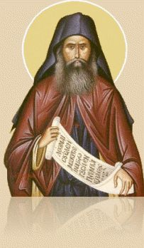 An icon of St. Silouan the Athonite
