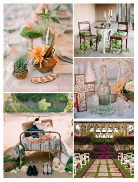 Old world style wedding centerpieces shipwrecked themed destination wedding ideas from beau coup