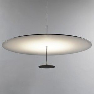 Foster Partners designs simple disc-shaped pendant lamp for Lumina