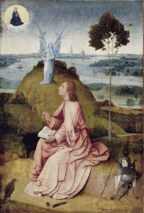 Juan de Patmos, de Hieronymus Bosch 'El Bosco' (1450 – 1516)