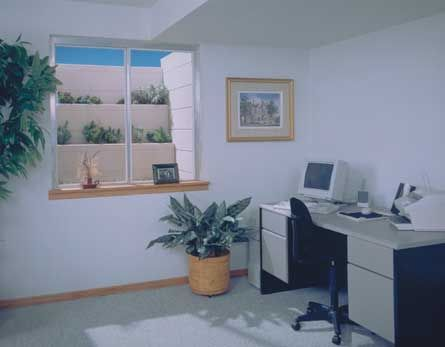 Great Egress Basement Window Light S Up This Home Office Nicely. Http: