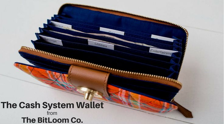 With 8 dedicated envelopes (preprinted tabs included!), the Cash System Wallet  provides stylish organization and accessibility for your budget system. Shop the collection at The BitLoom Co.: