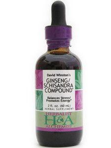 Herbalist & Alchemist- Ginseng/Schisandra Compound 2 oz