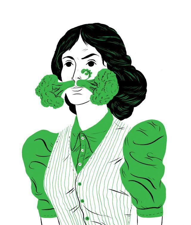 Broccoli, Greenpeace Magazine, The A-Z of Food | Paul Blow | makersmgmt.com