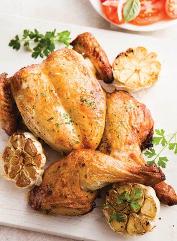 Garlic and Herb Spatchcock Chicken #TheSecretChef #Aldi