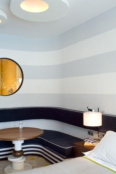 INTERIOR DESIGN PROJECT| India Mahdavi unique Monte Carlo Beach hotel |http://bocadolobo.com/ #interiordesignprojects #moderninterioriving