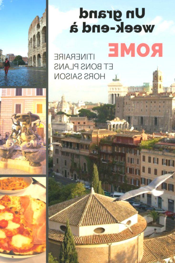 Reiseroute und Tipps für ein tolles Wochenende in Rom