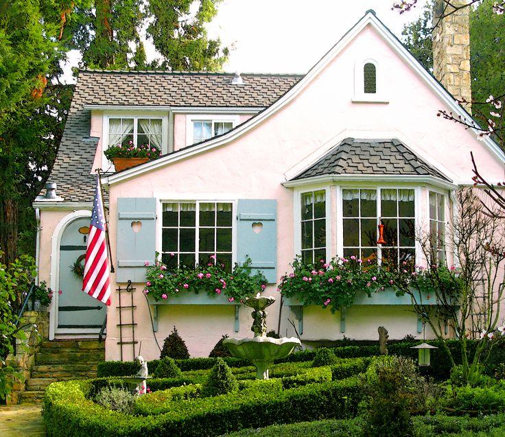 Ten Winkel Cottage Ca 1925 Carmel By The Sea