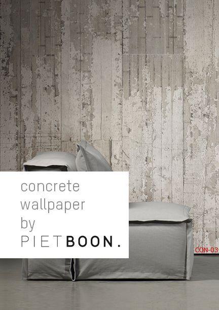 Concrete Wallpaper by Piet Boon
