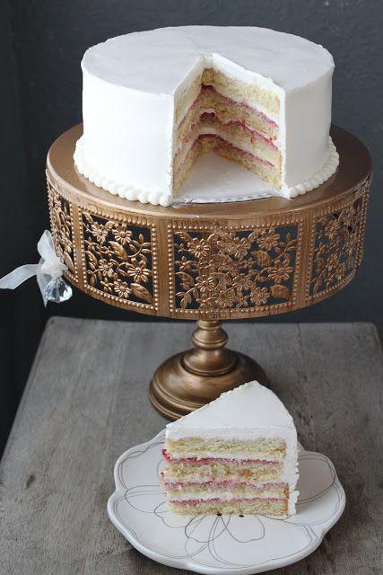The Little Epicurean | Lemon Raspberry Layer Cake