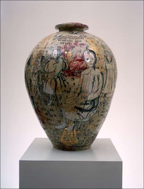 Grayson Perry, Golden Ghosts, 2001