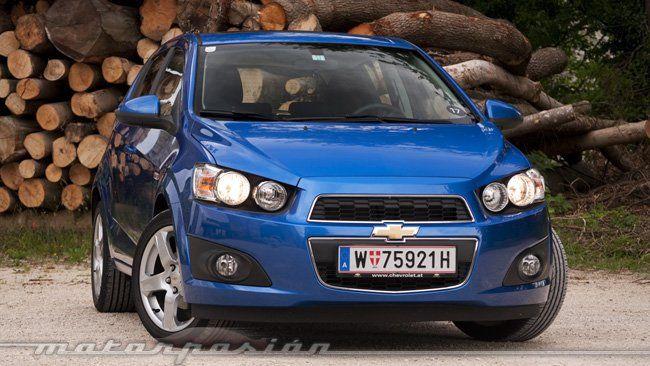 Chevrolet Aveo 1.4 LT 100cv (8000€)