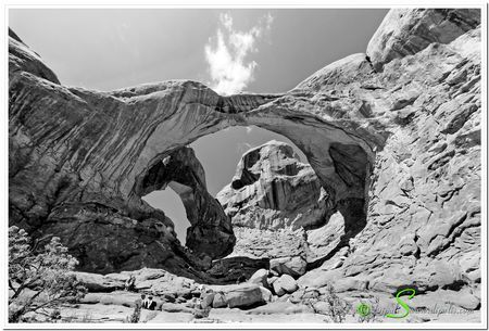 Double arch Photo by Dipali S. -- National Geographic Your Shot