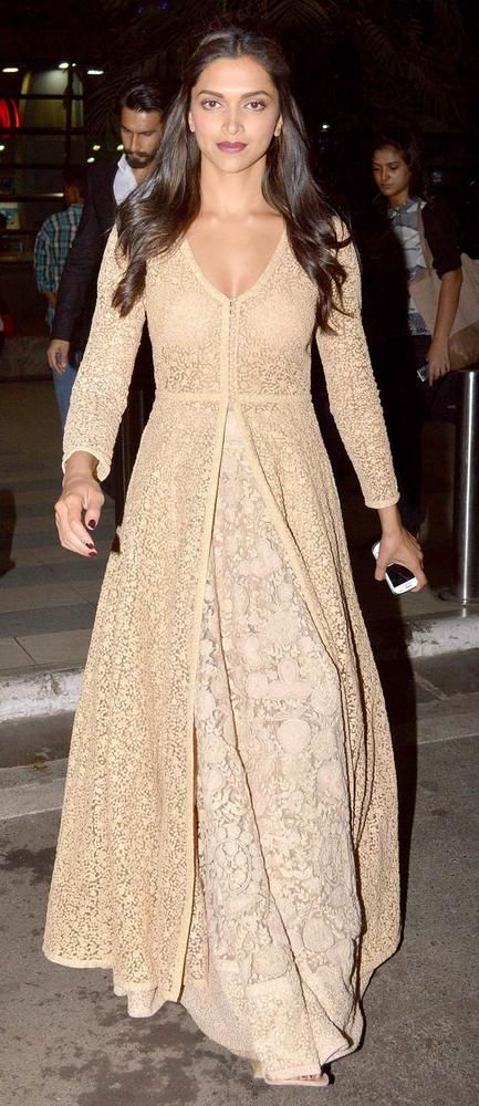Deepika Padukone looking stylish & gorgeous as usual ##saree #indian wedding #fashion #style #bride #bridal party #brides maids #gorgeous #sexy #vibrant #elegant #blouse #choli #jewelry #bangles #lehenga #desi style #shaadi #designer #outfit #inspired #beautiful #must-have's #india #bollywood #south asain