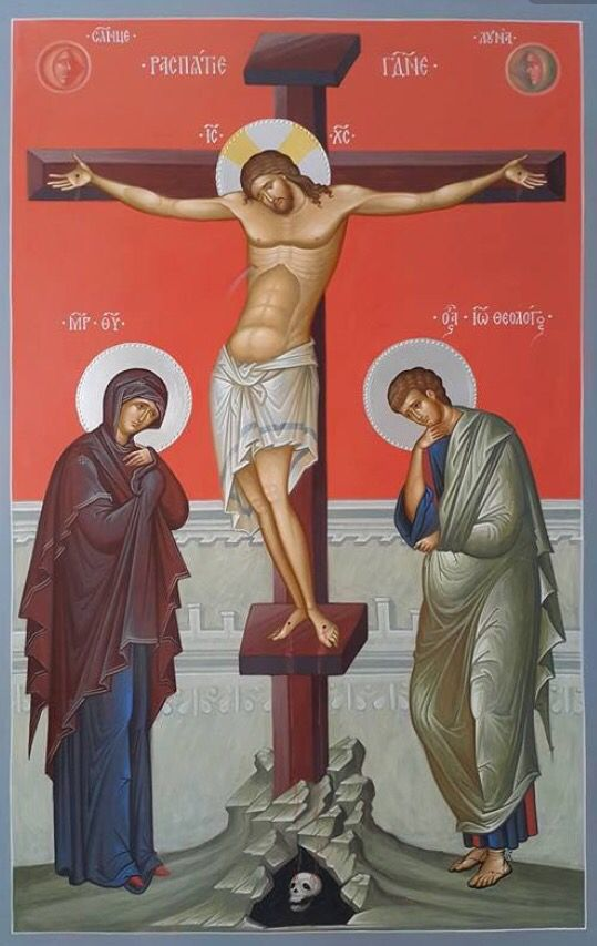 Artwork of the Crucifixion of Jesus Christ