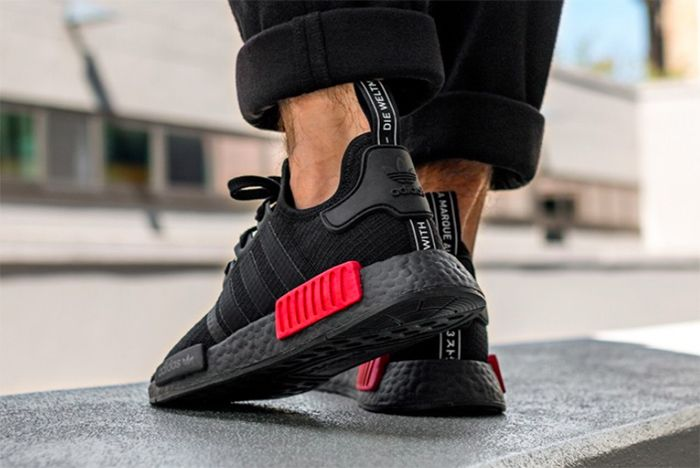b70c708051fbc The adidas NMD R1 Gets the  Bred  Treatment