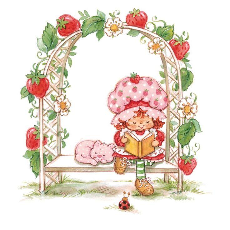 1033 best Moranguinho images on Pinterest  Strawberry shortcake