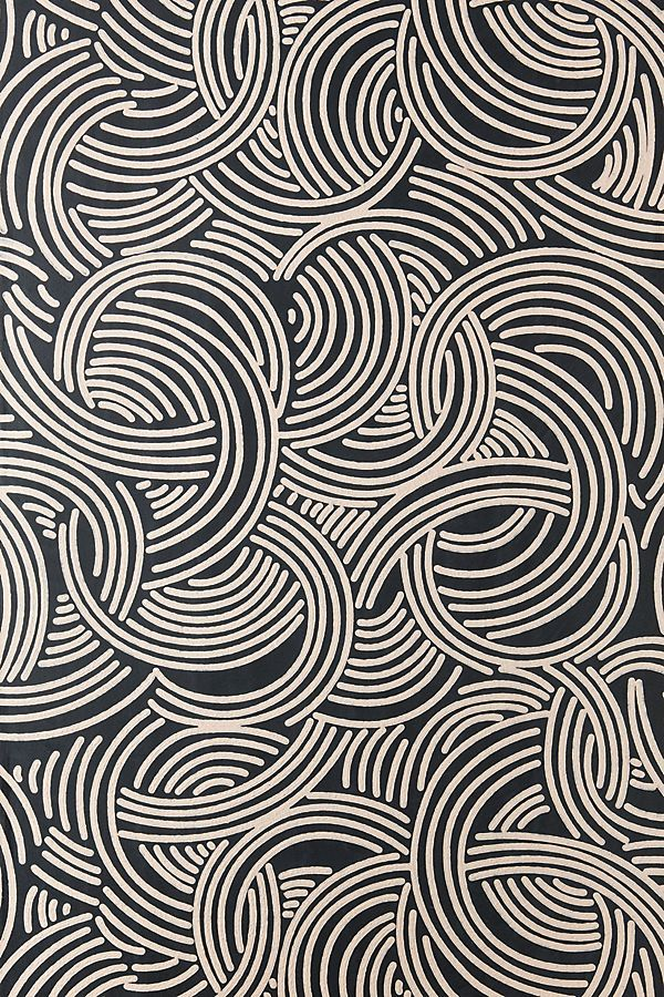 Farrow & Ball Tourbillon Wallpaper in 2019 Geometric