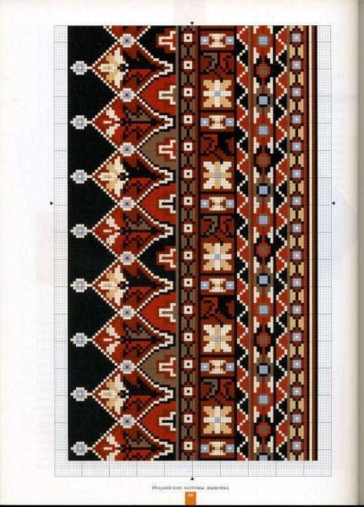(3) Gallery.ru / Фото #36 - Вышивка. Индийские мотивы - thabiti