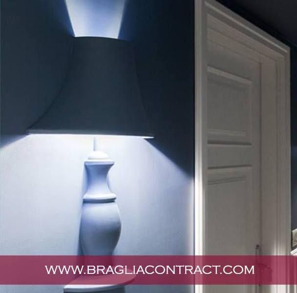 La nostra lampada Glamp è progettata per dare forma alla luce senza diventare protagonista dello spazio, così da celebrare l'ambiente circostante.  #glamp #lampade #gesso #rifiniture #madeinitaly #design