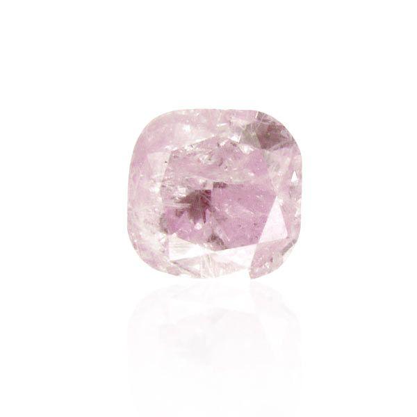 RARITÄT - seltener rosa Diamant 0,27ct Rosa Diamant Kissenschliff PII