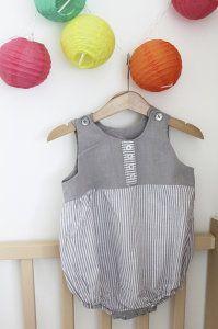 Couture : ma première barboteuse pour mon bébé