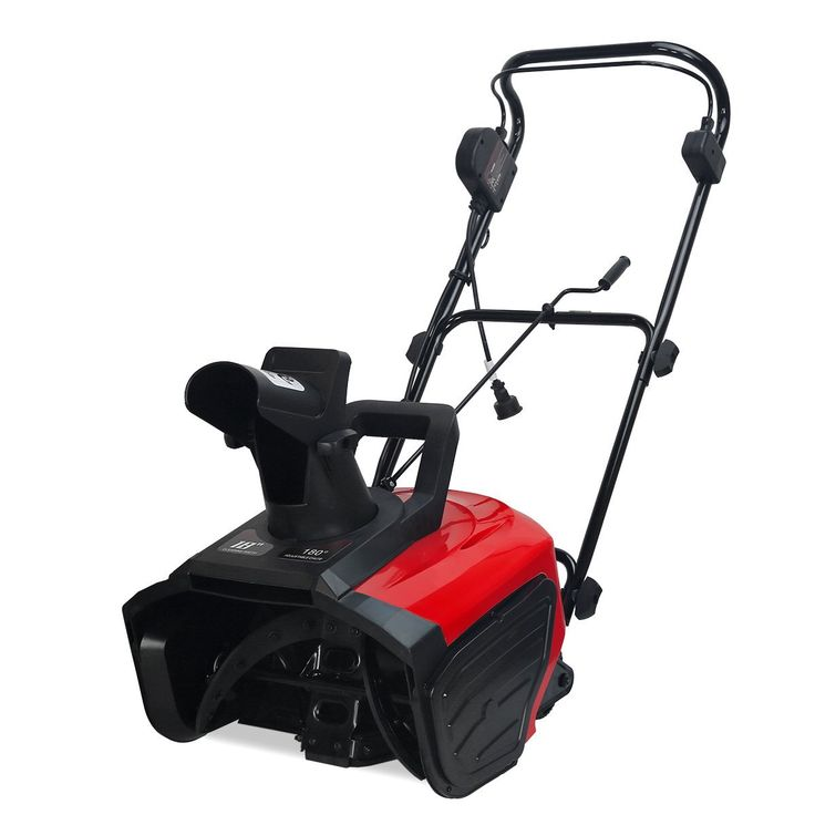 Wonderful Electric Snow Thrower - A Machine for Snow Removal