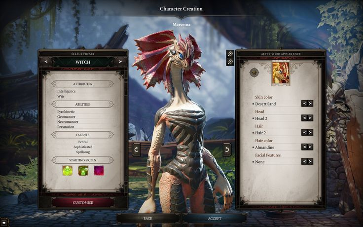 """Hello, beautiful"" / Divinity: Original Sin II Screenshot"