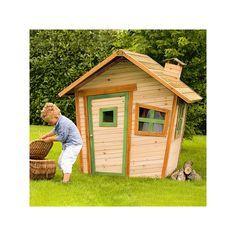 #Casita de #madera #infantil, perfecta para #jardín o cualquier tipo de interior. Crea una zona de #juego perfecta en la que los #niños lo pasarán en grande. A la venta en www.parquedebolas.com #Ocio