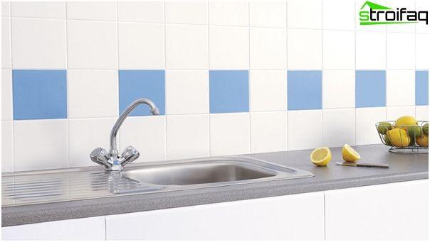Плитка для кухні - 150 фото плитки на фартух і для підлоги