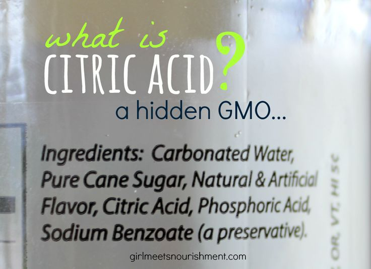 What is Citric Acid? A Hidden GMO - Girl Meets Nourishment | http://girlmeetsnourishment.com/citric-acid/
