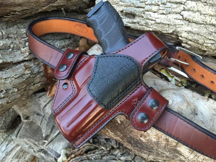 Nightingale Leather Griffon V Owb Holster W Thumb Break