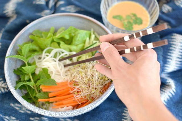 Vietnamesisch kochen | Bún Chay (vegan) | at/least | Bloglovin'