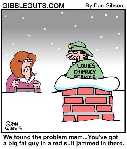 9 Best Santa S Chimney Humor Images On Pinterest Chistes