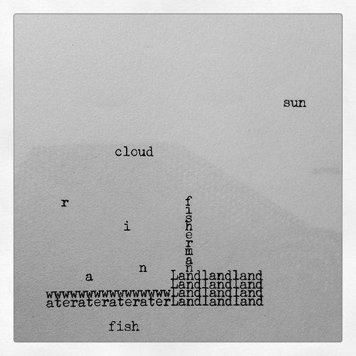 Dom Sylvester Houedard, Screenprint 15.5(w) x 20.5(h) cm, 1965