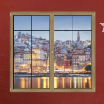 Windows Of Portugal - Day 1 | 1/12/2915 December arrives and, with it, our Advent Calendar! Every day we'll open a new window with a surprise: a dazzling view over one of Portugal's regions. Will you join us in this trip? We start with Porto: http://bit.ly/1qdz6UK #WindowsOfPortugal #Portugal