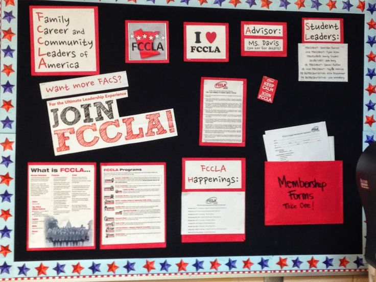Ashley's FACS of Life!: FCCLA : Family Career and Community Leaders of America