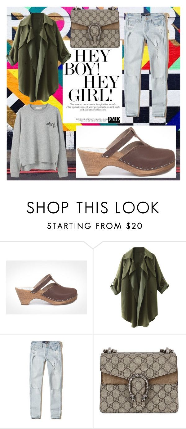 Unisex trend by maguba on Polyvore #maguba #woodenclogs #winterstyle #weekend #midheels #green