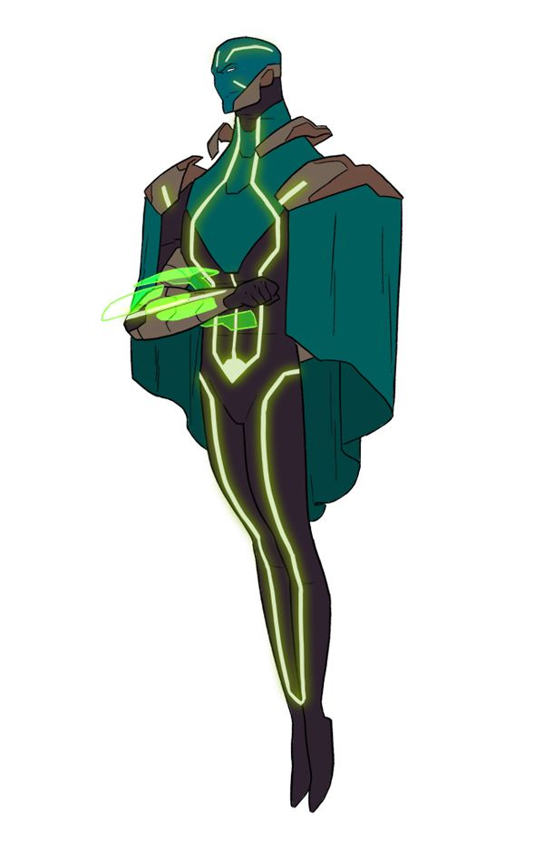 Kris Anka's Kang - so much better than the green and purple robe and weird helmet thing