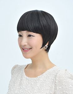 Refined shortcut hairstyles, shortcut hairstyle wigs