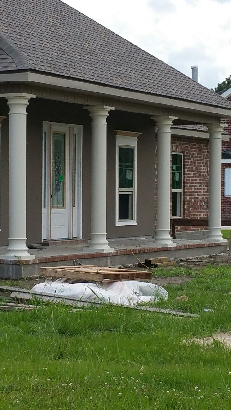 Concrete Pillars For Porch : Best porch columns ideas on pinterest