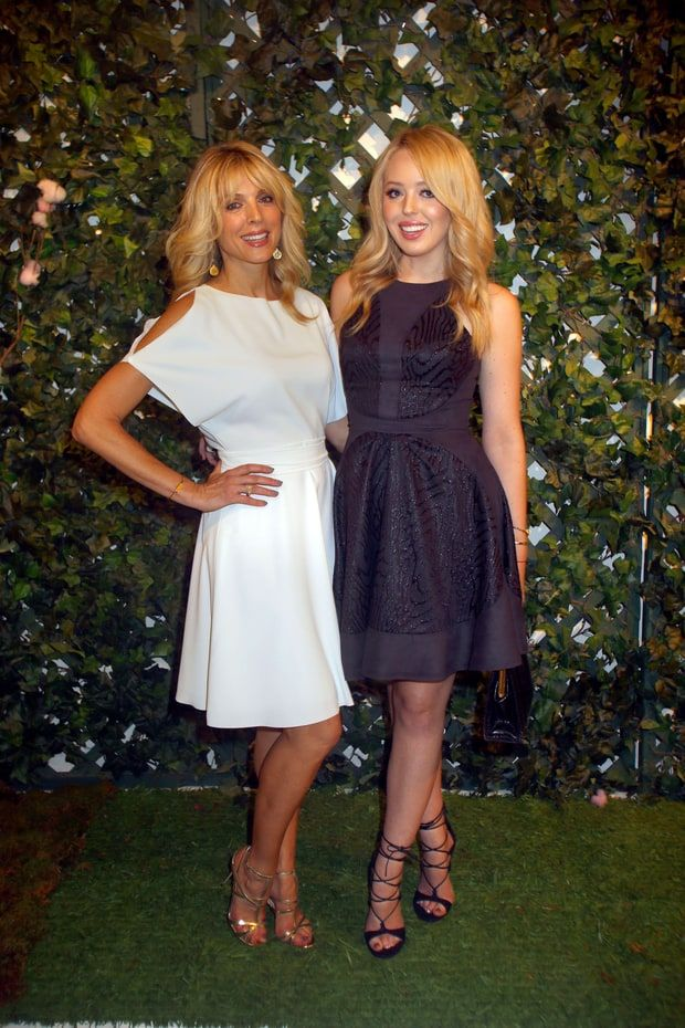 Marla Maples and Tiffany Trump