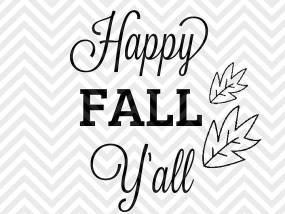 happy fall ' wood sign svg