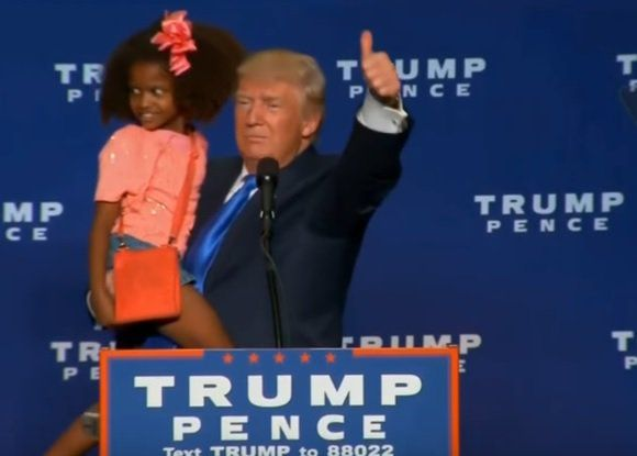 BEAUTIFUL! Donald Trump Invites the Kids Onstage Tonight in Green Bay! (VIDEO)  Jim Hoft Oct 17th, 2016