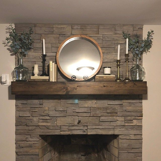 Pin On Fireplaces In 2020 Fireplace Mantle Floating Mantel