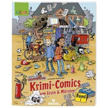 GEOlino Krimi-Comics <br />Wadenbeißer Band 1